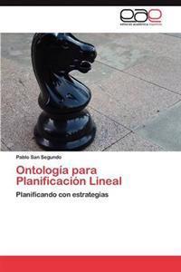 Ontologia Para Planificacion Lineal