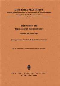 Stoffwechsel Und Degenerativer Rheumatismus