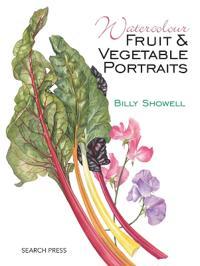 Watercolour Fruit and Vegetable Portraits
