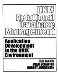 Unix Relational Database Management