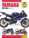 Yamaha Yzf-r6, '06-13 Haynes Repair Manual