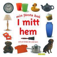 Min första bok  I mitt hem