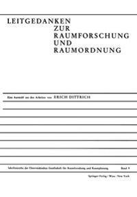 Leitgedanken Zur Raumforschung Und Raumordnung