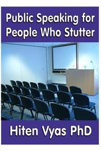 Public Speaking for People Who Stutter