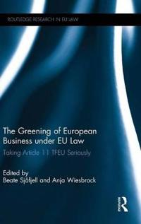 Greening of European Business under EU Law