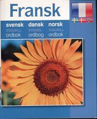 Fransk - svensk dansk norsk visuell ordbok