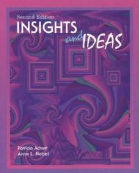 Insights and Ideas