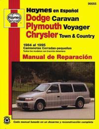 Haynes en Espanol Dodge Caravan, Plymouth Voyager, Chrysler Town & Country 1984, 1995