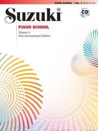 Suzuki Piano School, Vol 4: Book & CD