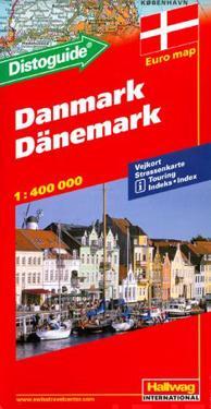 Rand McNally Hallwag Denmarkinternational Map