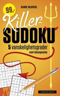 Killer-sudoku. 5 vanskelighetsgrader med tidsangivelse - Hanne McBride pdf epub