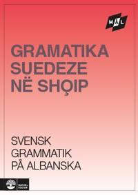 Mål Svensk grammatik på albanska