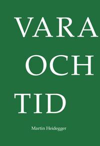 Vara och tid - Martin Heidegger pdf epub