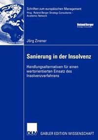 Sanierung in Der Insolvenz