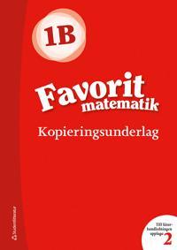 Favorit matematik 1B, Kopieringsunderlag - Sirpa Haapaniemi, Sirpa Mörsky, Arto Tikkanen, Päivi Vehmas, Juha Voima pdf epub