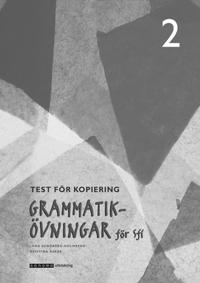 Grammatikövningar för sfi. D. 2, Test för kopiering