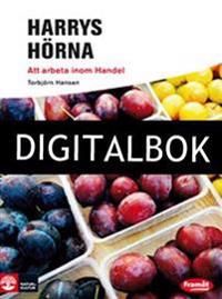 Framåt Yrkesinriktade böcker Harrys Hörna - Att arbeta inom handel Digitalb