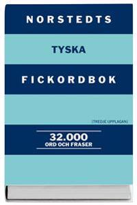 Norstedts tyska fickordbok : tysk-svensk/svensk-tysk