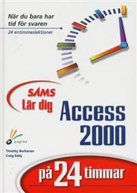 Lär dig Access 2000 på 24 timmar