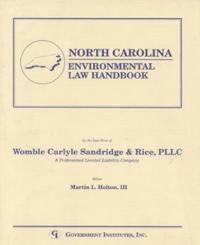 North Carolina Environmental Law Handbook