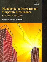 Handbook on International Coroporate Governance