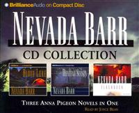Nevada Barr CD Collection: Blood Lure, Hunting Season, Flashback