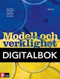 Modell och verklighet Kemi 1 Lärobok Digital, andra upplagan
