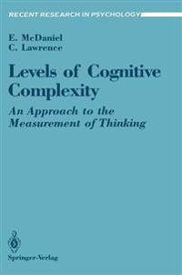Levels of Cognitive Complexity
