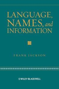 Language, Names, and Information