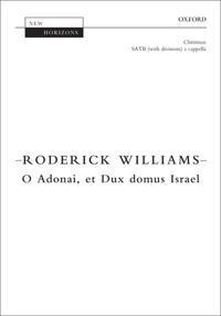 O Adonai, et Dux domus Israel