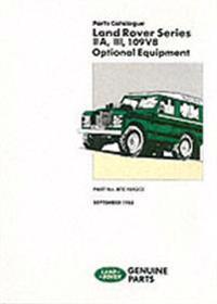 Land-rover Iia, Iii, 109v8 Optional Equipment Parts Catalog
