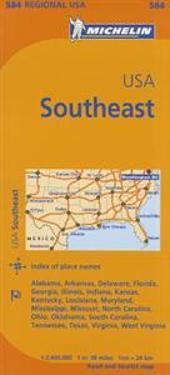 Michelin Usa: Southeast Map 584