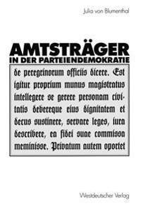 Amtstrager in Der Parteiendemokratie