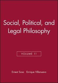 Social, Political, and Legal Philosophy