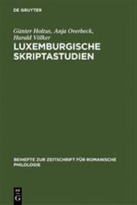 Luxemburgische Skriptastudien