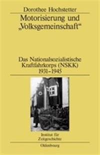 Motorisierung Und Volksgemeinschaft