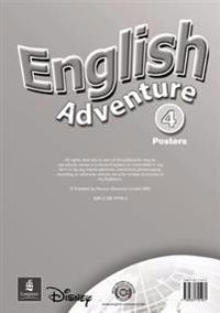 English Adventure Level 4 Posters