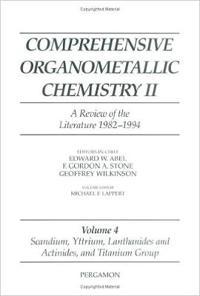 Scandium, Yttrium, Lanthanides and Actinides, and Titanium, Zirconium, and Hafnium
