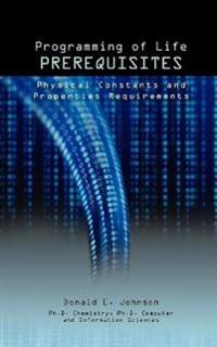 Programming of Life Prerequisites