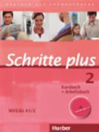 Schritte plus 2. Niveau A1/2. Kursbuch + Arbeitsbuch mit Audio-CD zum Arbeitsbuch