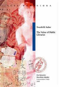 The Value of Public Libraries
