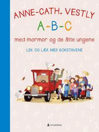 A-B-C med mormor og de åtte ungene. Lek og lær med bokstavene