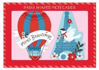 Paris Shaped Notecards