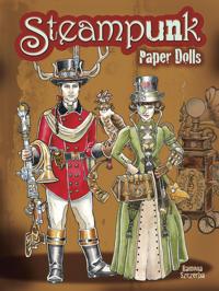 Steampunk Paper Dolls