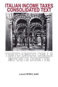 Italian Income Taxes Consolidated Text