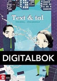 Text & tal Digital