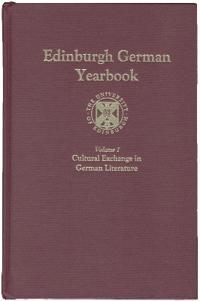 Edinburgh German Yearbook