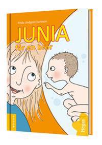 Junia får en bror (Bok+CD)
