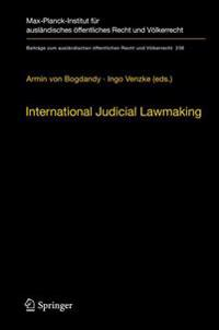 International Judicial Lawmaking