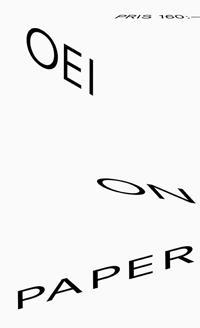 """OEI # 62 """"On Paper"""""""